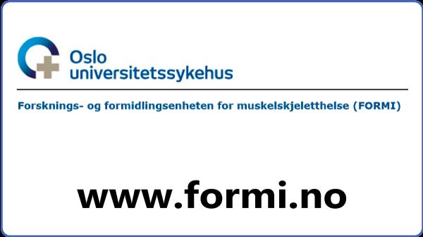 En ny studie på Modic-forandringer er i gang i Norge
