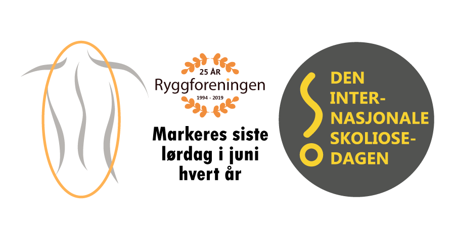 Ryggforeningen i Norge markerer Den Internasjonale Skoliosedagen lørdag 27. juni 2020