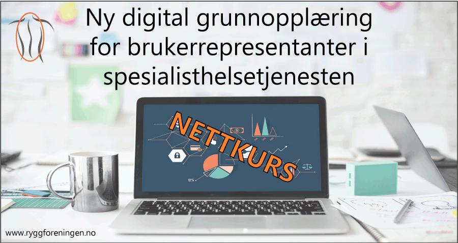 Ny digital grunnopplæring for brukerrepresentanter i spesialisthelsetjenesten