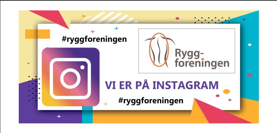 FØLGER DU #RYGGFORENINGEN PÅ #INSTAGRAM?