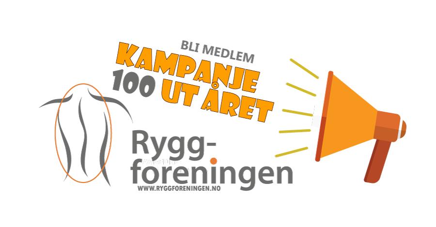 Bli medlem – Kampanje 100 ut året