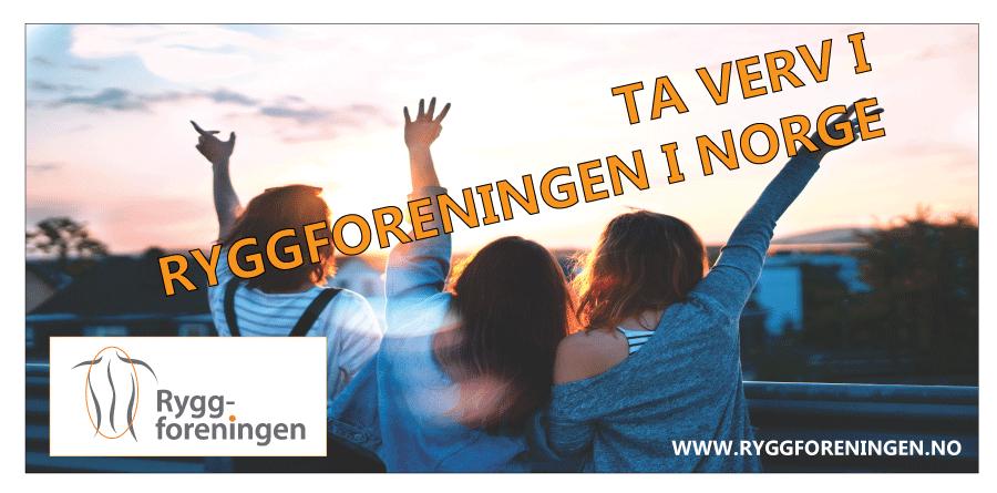 Ryggforeningen MjøsRygg avdeling Hedmark og Oppland søker flere til styreverv